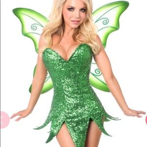 Other - Tinkerbelle Costume w wings